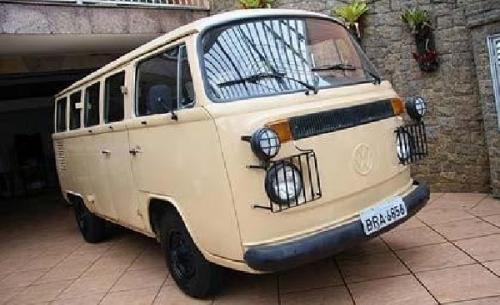 Kombi 1980 4x4 protótipo VW do Brasil