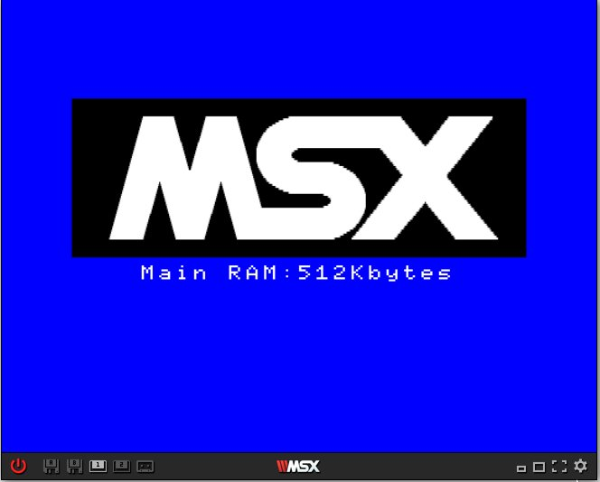 Emulador de MSX para jogos