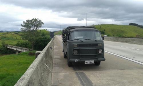 Kombi pick up 1990 militar